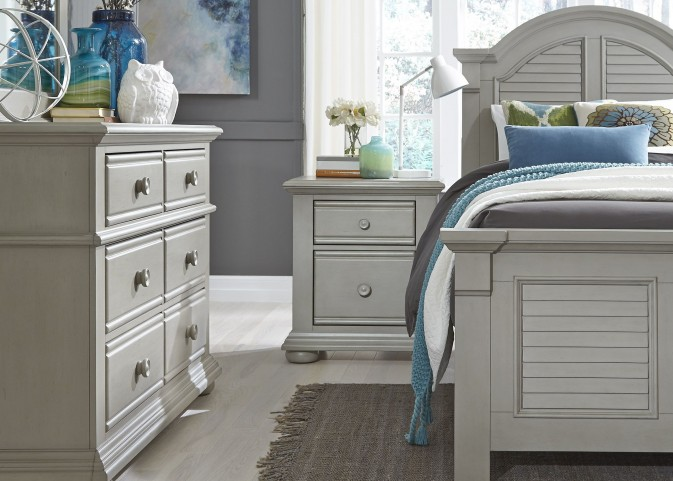 Summer House Dove Gray Youth Panel Bedroom Set