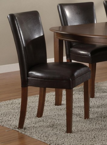 Soho Brown Parson Chair Set of 2