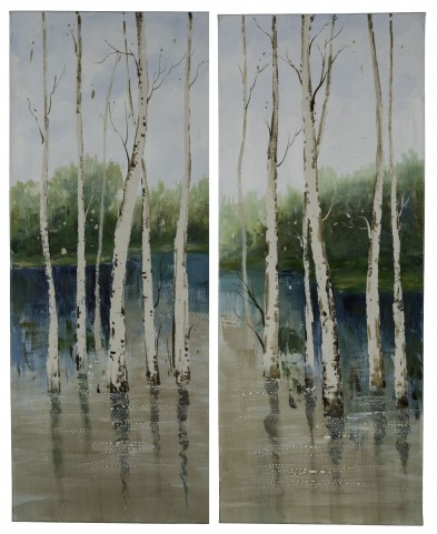 Forest in the Water Set of 2