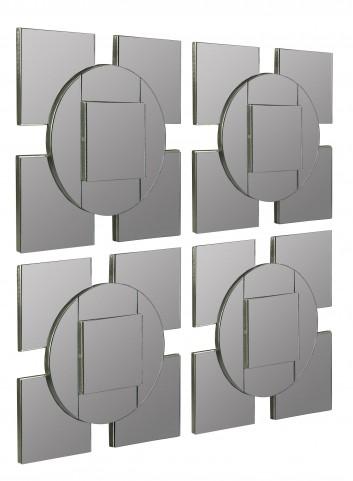 Tupan Mirror Set of 4