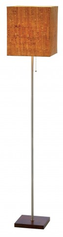 Sedona Walnut Floor Lamp