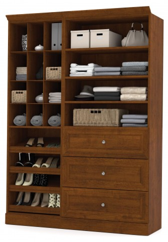 Versatile Tuscany Brown 61'' Storage Unit