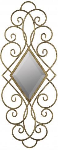 Sisbee Aged Gold Mirror