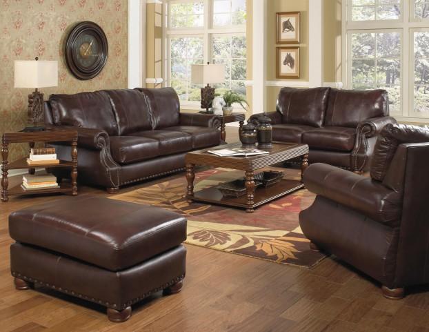 Dawson Redwood Living Room Set