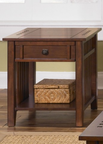 Prairie Hills End Table