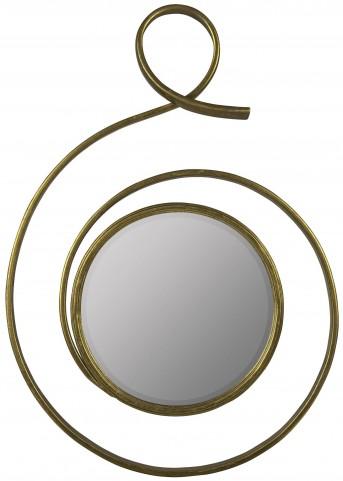 Kostya Shimmering Gold Mirror