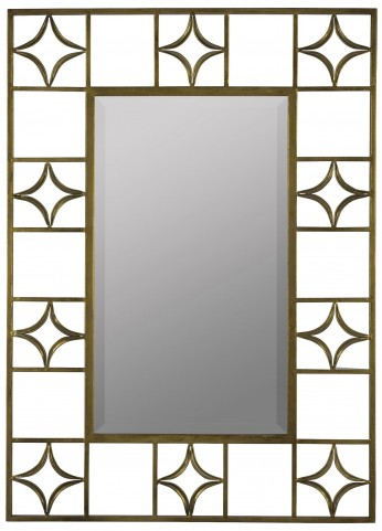 Hansel Antique Gold Mirror
