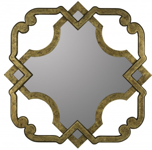 Mercer Aged Gold Mirror