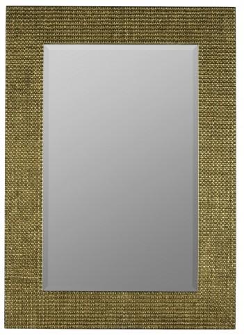Elwood Aged Gold Mirror