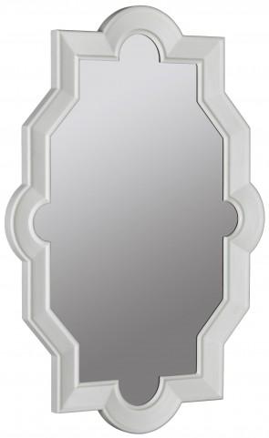 Bronte Glossy White Mirror