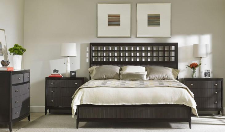 Wicker Park Wood Panel Bedroom Set