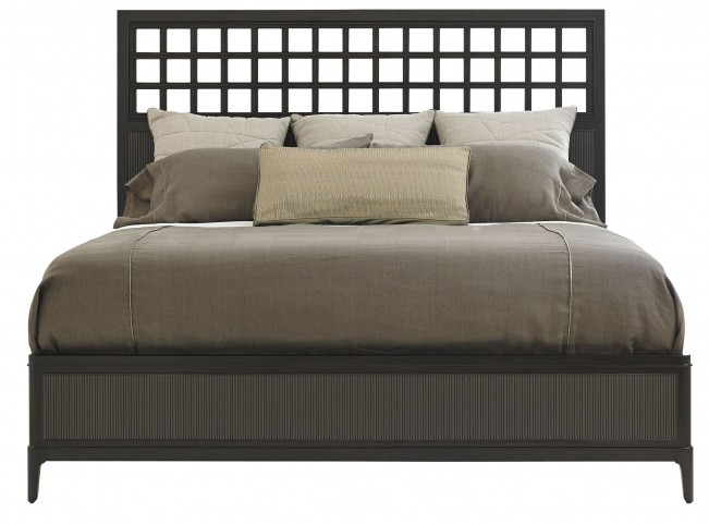 Wicker Park Wood Queen Panel Bed