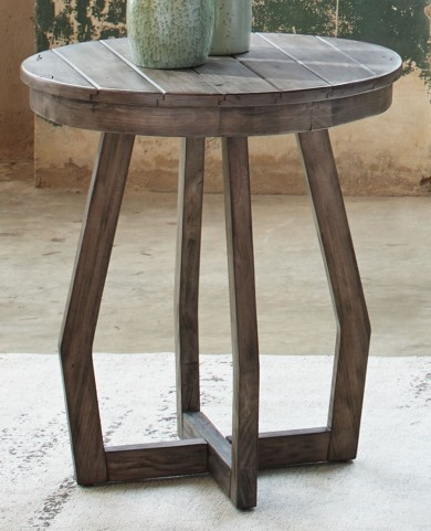 Hayden Way Gray Wash Chair Side Table