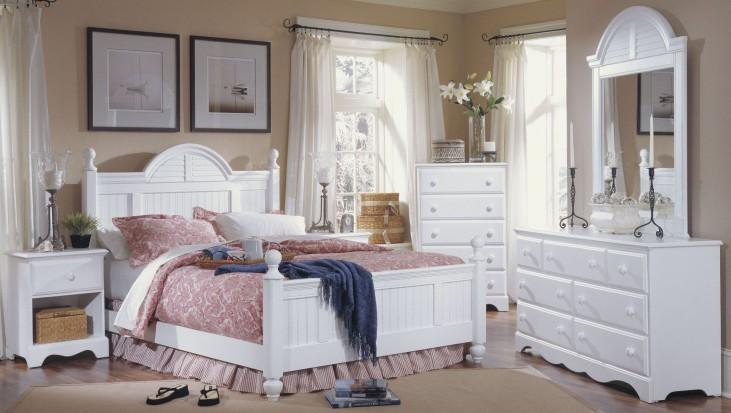Carolina Cottage White Cottage Bedroom Set