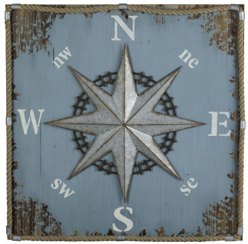 Compass Wall Hanging Wall Art