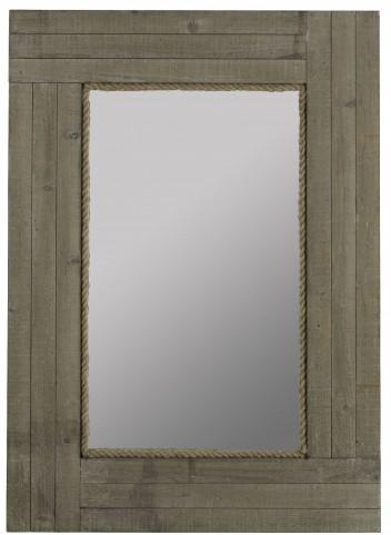 Hatteras Driftwood Gray Mirror