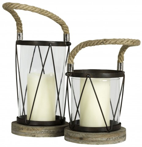 Hatteras Small Candle Holder