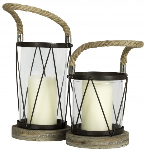 Hatteras Large Candle Holder