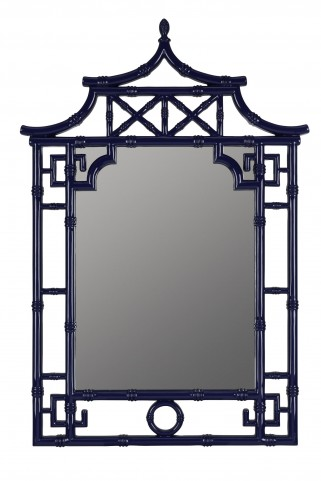 Pinlo Lacquered Cobalt Mirror