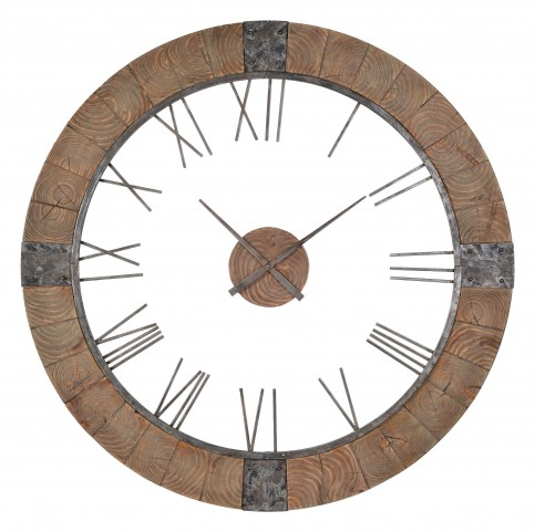 Verity Wood Frame Clock