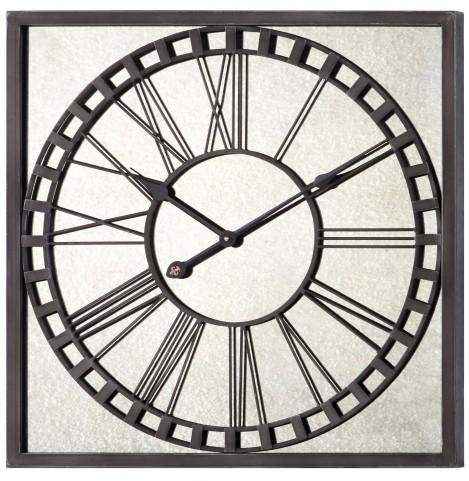 Lydia Gray Metal Clock