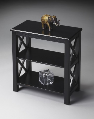 Masterpiece Black Licorice Bookcase