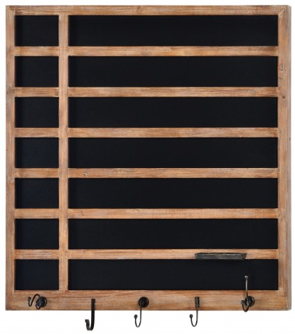 Twill Natural wood Chalkboard