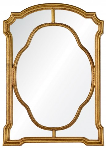 Cato Antiqued Gold Mirror