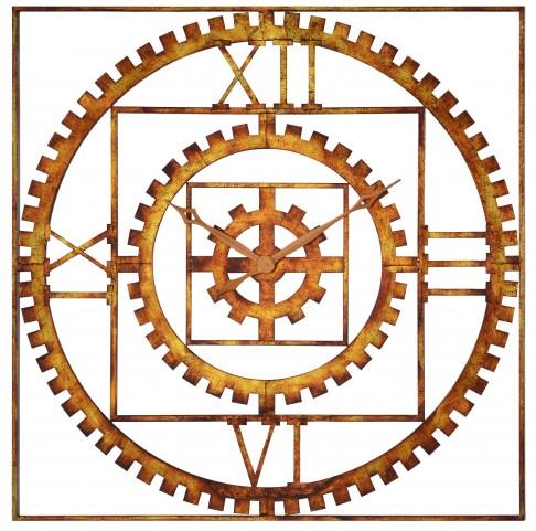 Tarrin Burnished Copper Clock
