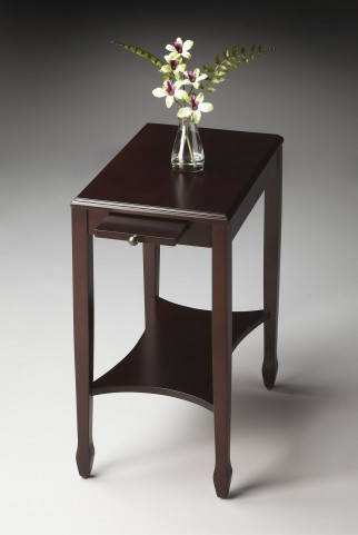 Gilbert Masterpiece Cordovan Side Table