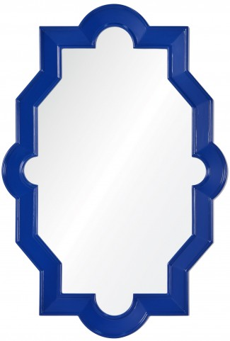 Trish Lacquered Cobalt Mirror