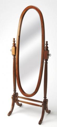 Masterpiece Olive Ash Burl Cheval Mirror