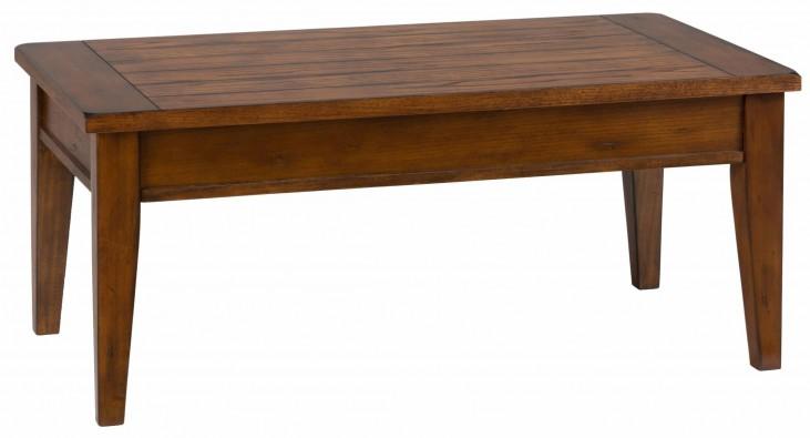 Dunbar Oak Lift Top Cocktail Table