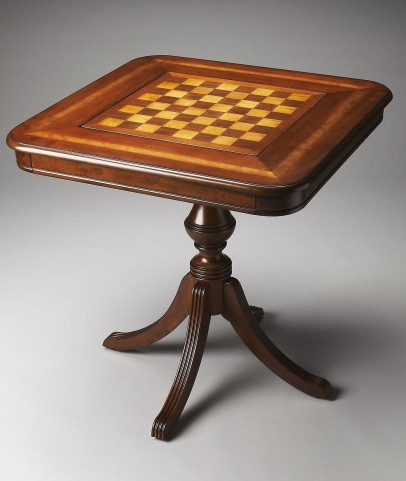 Plantation Cherry Morphy Antique Cherry Game Table