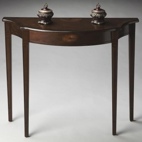 Masterpiece Chester Espresso Console Table