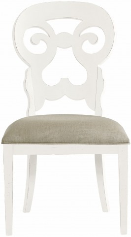 Coastal Living Saltbox White Wayfarer Side Chair