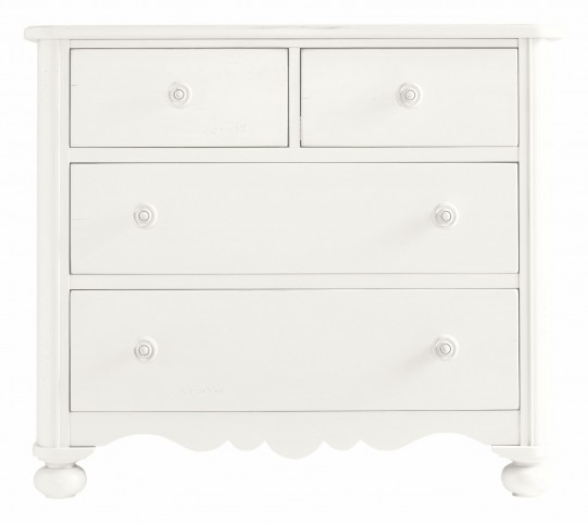 Coastal Living Saltbox White Seaside Chest