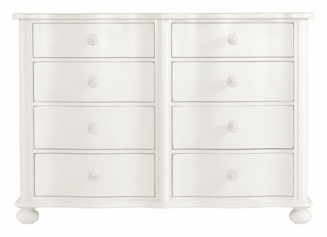 Coastal Living Saltbox White Weekend Dresser