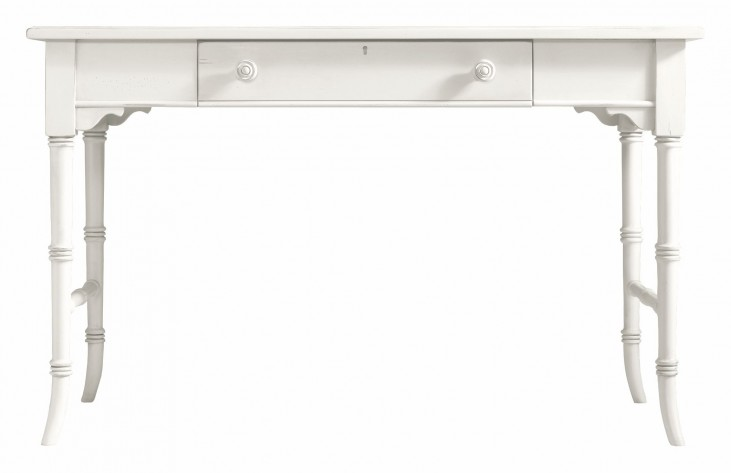 Coastal Living Saltbox White Table Desk