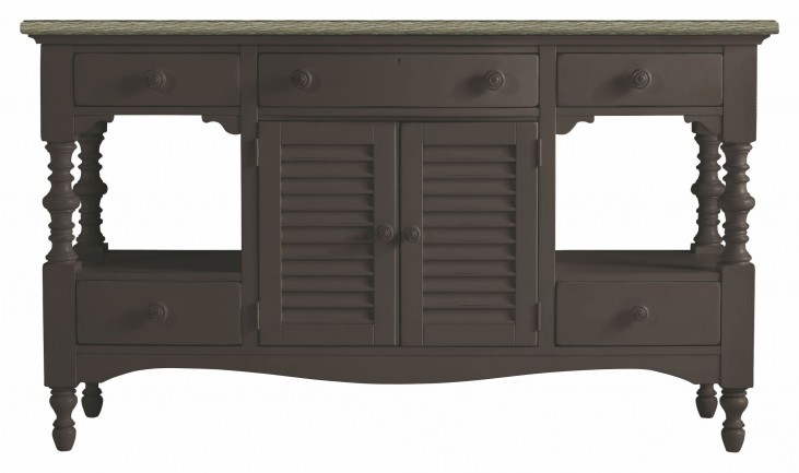 Coastal Living Gloucester Grey Buffet