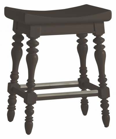 Coastal Living Gloucester Grey 5 O'Clock Somewhere Counter Stool