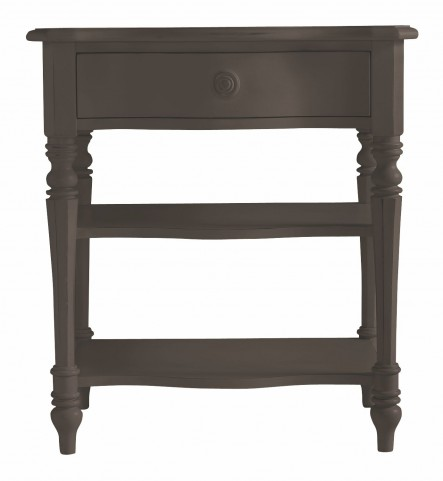 Coastal Living Gloucester Grey Bedside Table