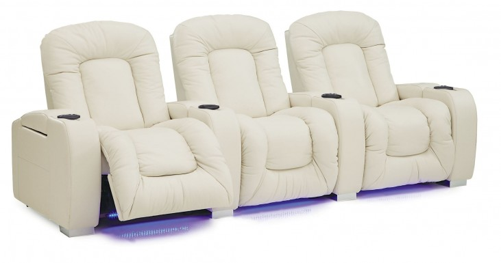 Mendoza Upholstered Power Reclining Home Theatre Seating