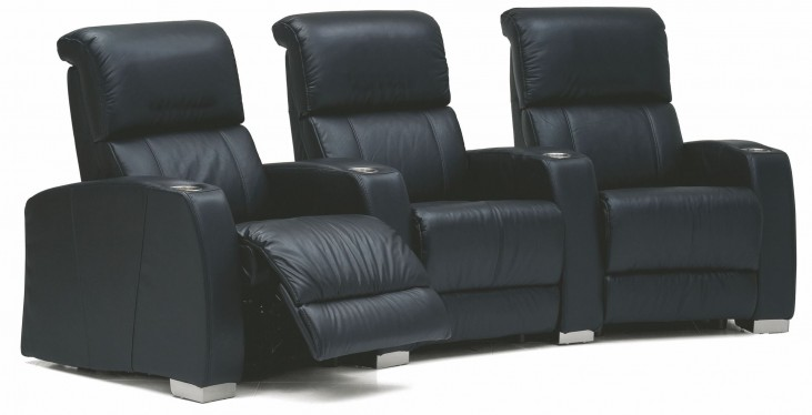 Hifi Leather Power Reclining Home Theatre Seating
