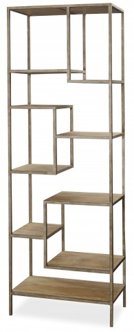 Moderne Muse Bisque Bunching Etagere