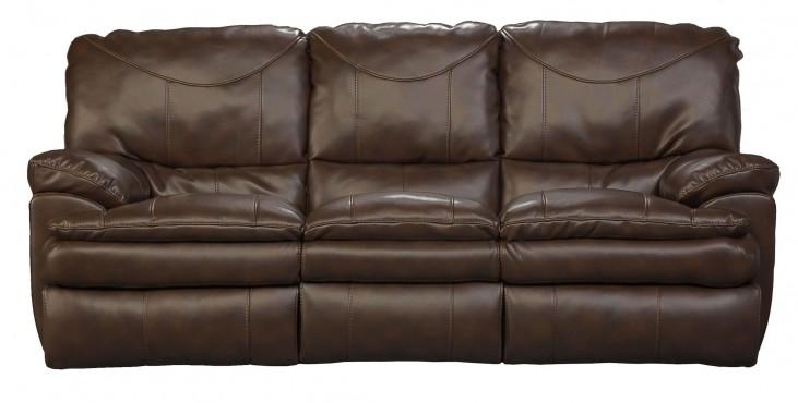 Perez Chestnut Reclining Sofa