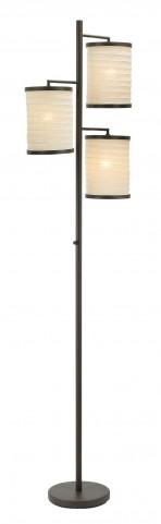 Bellows Antique Bronze Tree Lamp