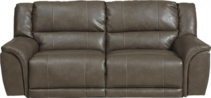 Carmine Smoke Power Reclining Sofa