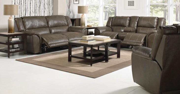 Carmine Smoke Power Reclining Living Room Set