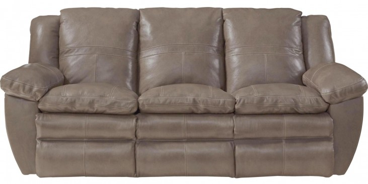 Aria Smoke Lay Flat Reclining Sofa